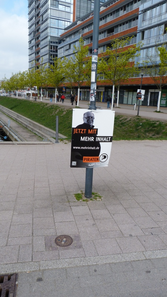 Wahlplakat Piraten